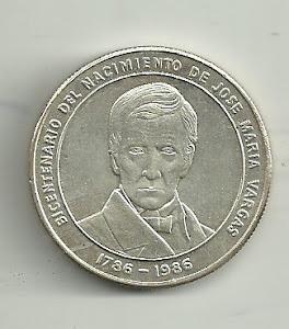 BICENTENARIO DE JOSÉ MARÍA VARGAS