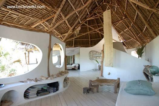 Arquitectura de Casas: Casa orgánica cerca del mar en la selva de ...