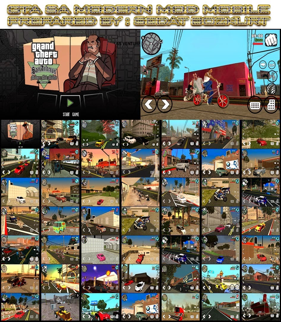GTA San Andreas Modern Mod Mobile Android Apk + Data v1.05 ...