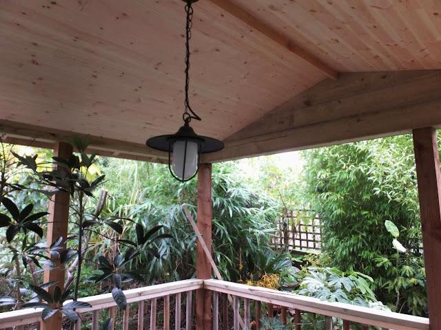 Pendant light in the new Jungle Hut
