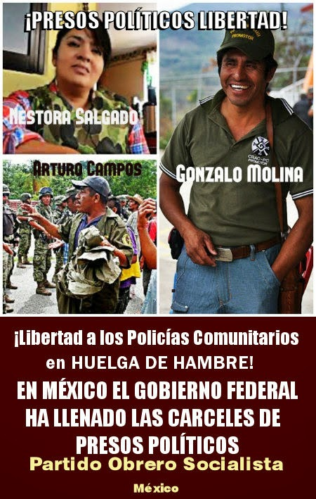 PRESOS POLÍTICOS: LIBERTAD
