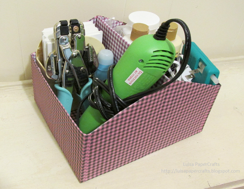 Luisa papercrafts organizador con caja de zapatos - Organizador de zapatos casero ...