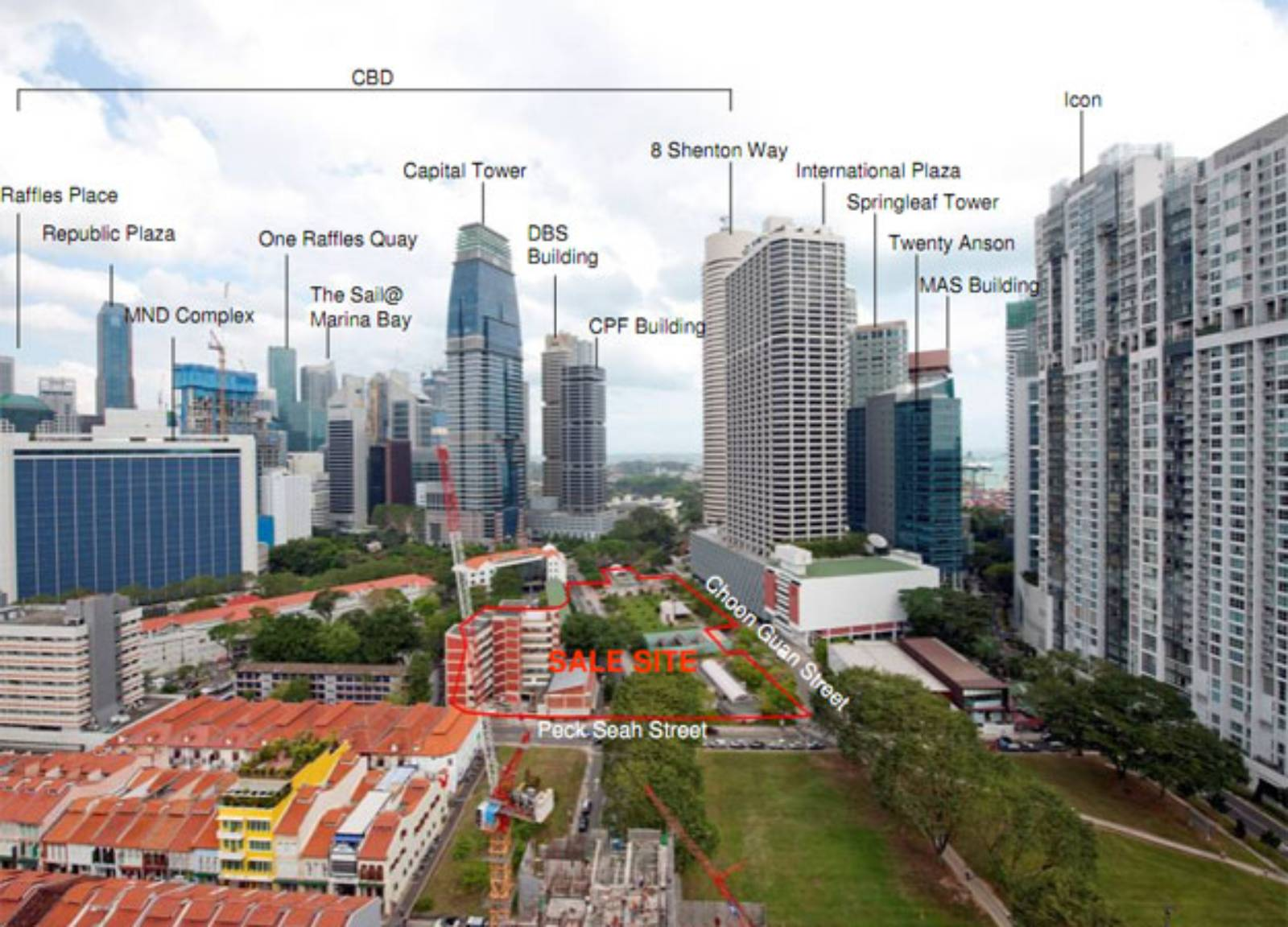 Tanjong pagar centre by som for Tallest hotel in singapore