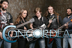 Interview with Daria Piankova, from russian band CONCORDEA
