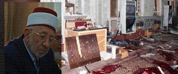 (Foto: Kondisi Masjid Setelah Insiden yang menewaskan Al-Buthi)