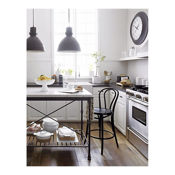 Just Nesting Wish List Kitchen Island - Crate and barrel kitchen island