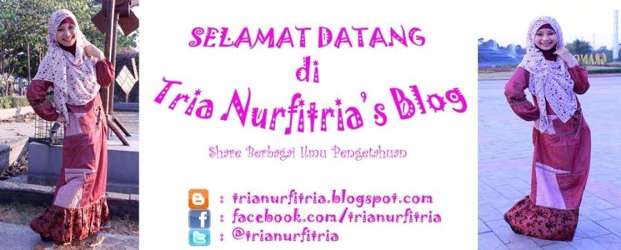 Tria Nurfitria's Blog