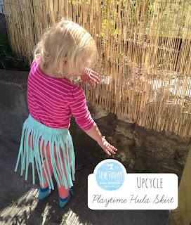 Upcycle: Playtime Hula Skirt