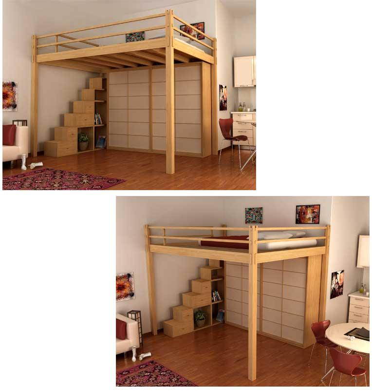 Il tuo architetto a genova soluzioni salvaspazio in - Camere da letto soppalco ...