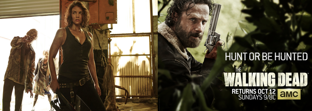 The Walking Dead Season Five: New Poster & Images - Zombie of the Week