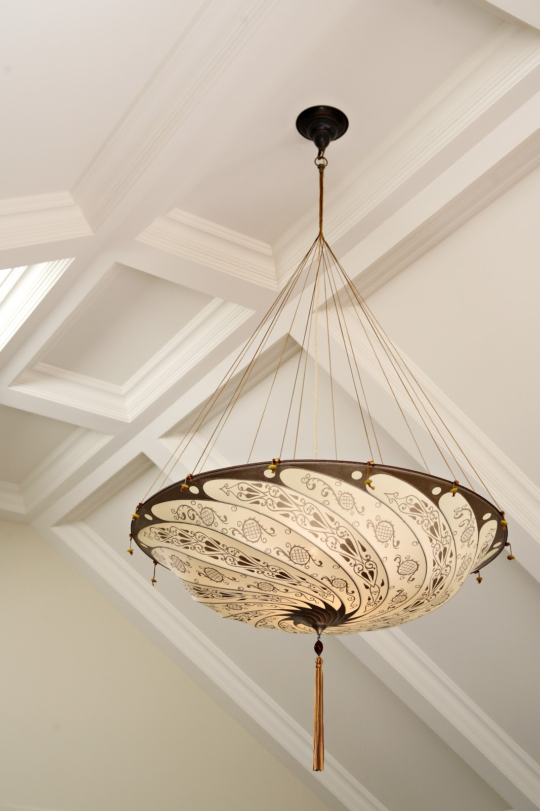 Fortuny silk chandelier archives the curated house arubaitofo Gallery