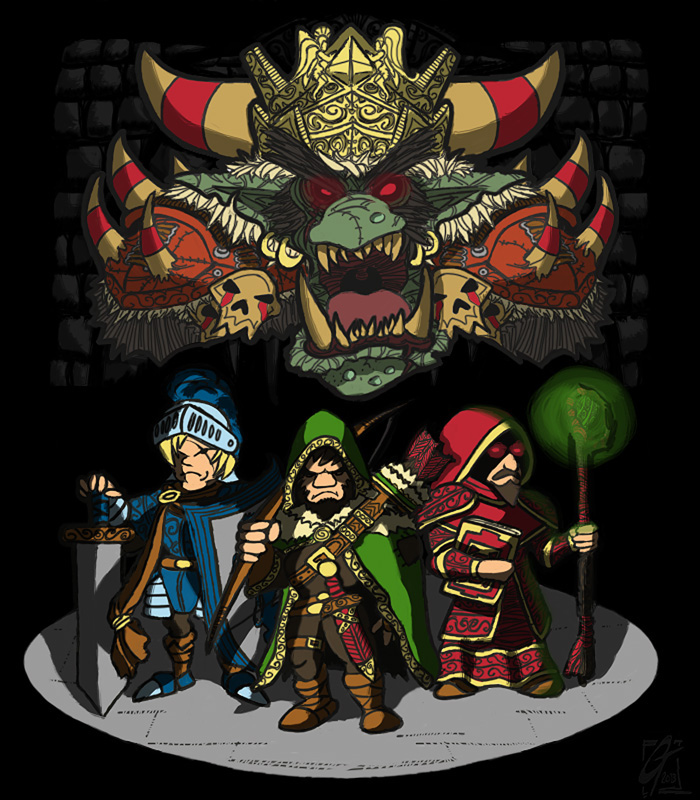 Dweller Roguelike - the goblin king
