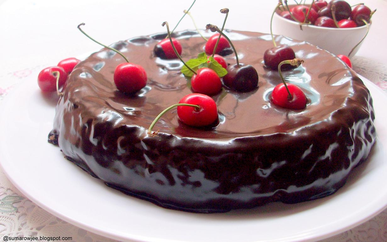 Cakes And More!: Almost Fudge Gateau