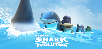Hungry Shark Evolution v1.7.4 Apk Mod Unlimited Gold and Diamond