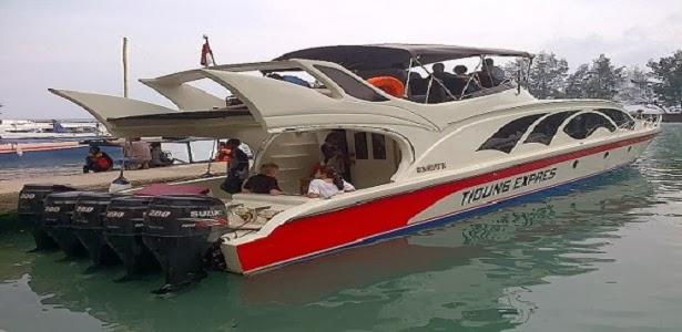Paket Speedboat