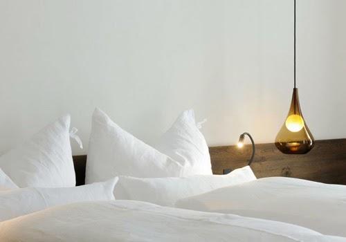 decoración de interiores dormitorio lámpara hermanas bolena