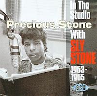 Cover Album of Precious Stone -In The Studio With Sly Stone 1963-1965