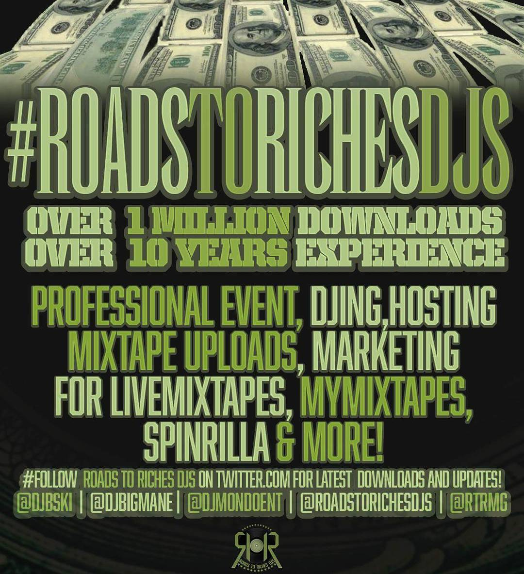 Roads to Riches Djs