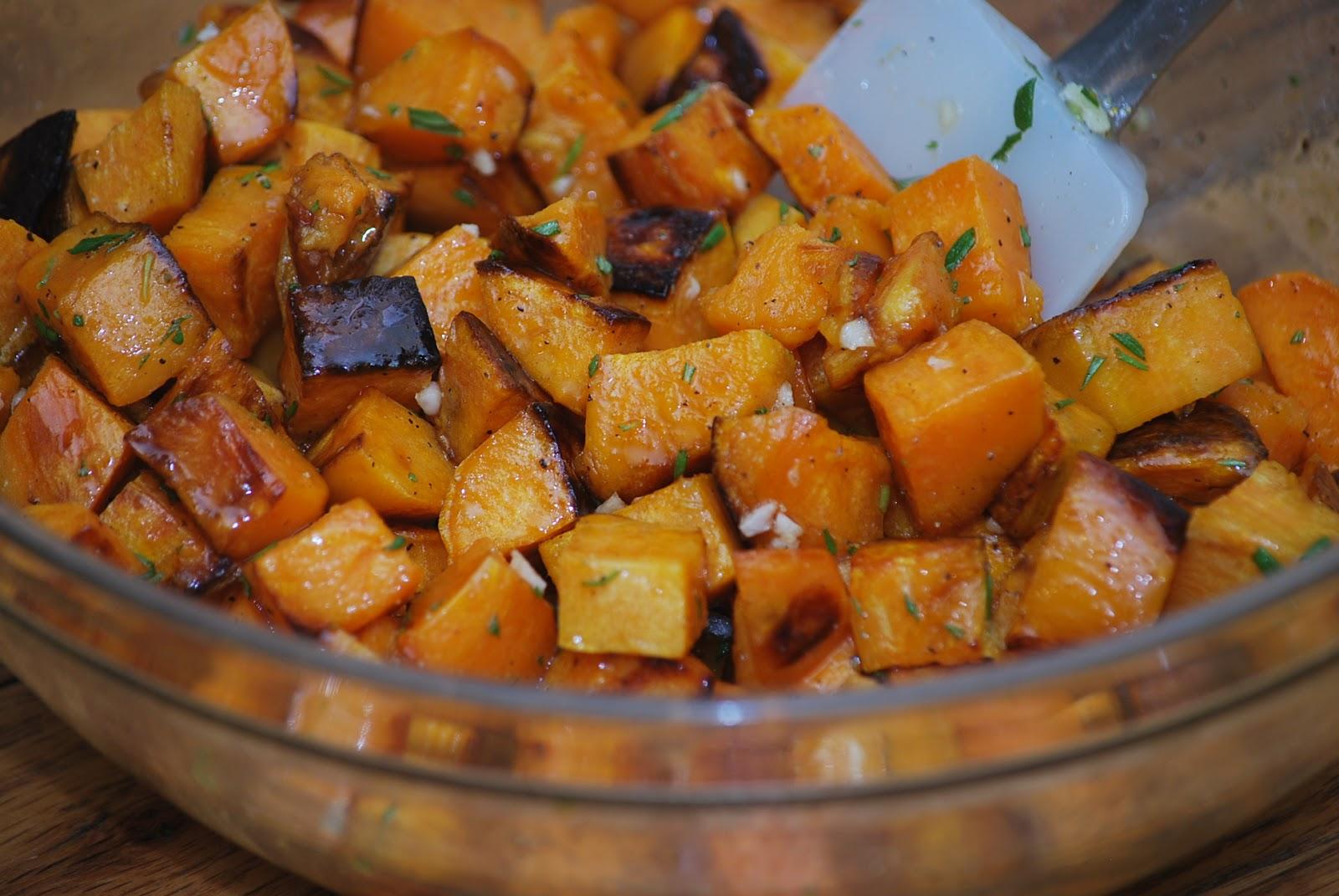 My story in recipes: Roasted Sweet Potato Salad