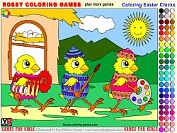 chơi game tô màu quả trứng