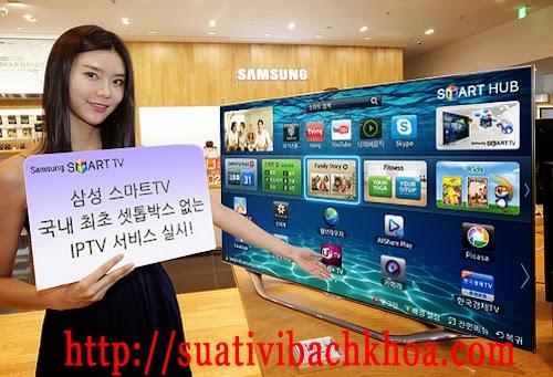 Dịch vụ sửa tivi tại nhà của trung tâm bảo hành tivi Samsung