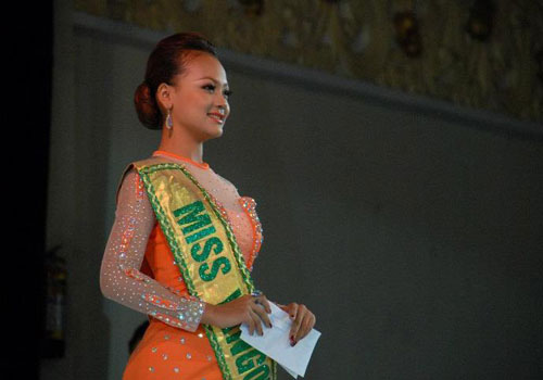 Miss Myanmar International 2012 Winnner's pics