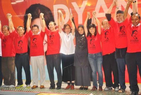 """DYANA """" MALAYSIANIZE """" MALAYSIA !; """" PAS 4 ALL """" VOTE DYANA!"""
