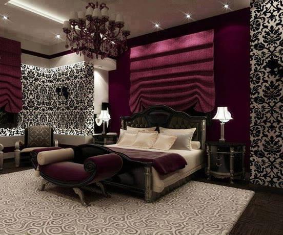 Luxury Bedrooms 2014 . غرف نوم فخمة جدا ولعشاق جميع الوان غرف