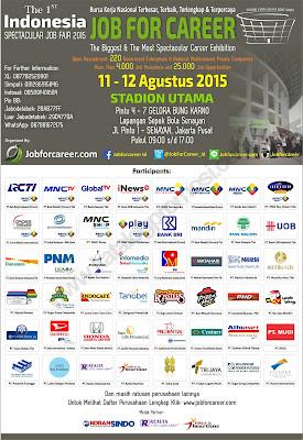 Jadwal Job Fair di Jakarta Agustus 2015