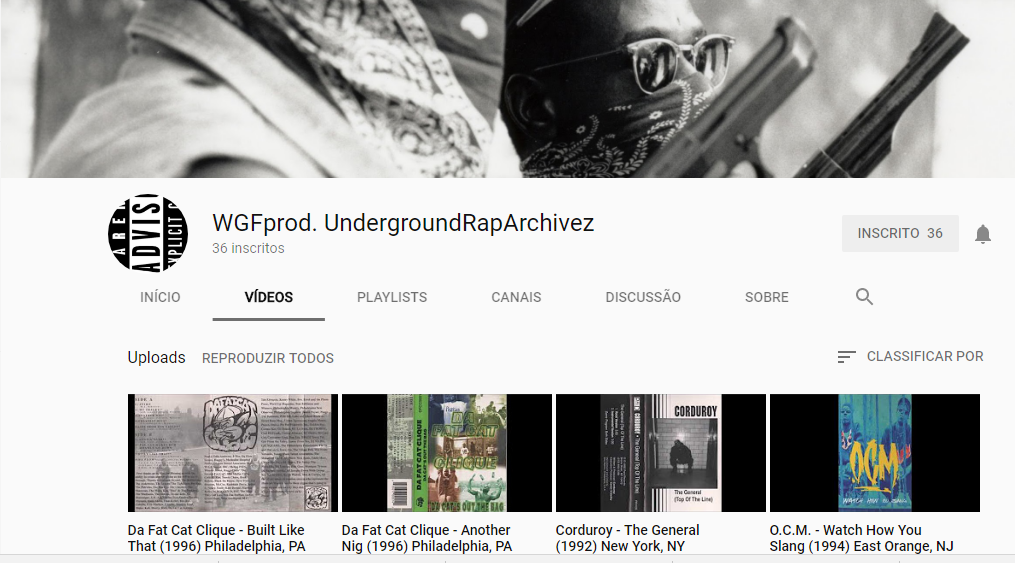 WGFprod. UndergroundRapArchivez