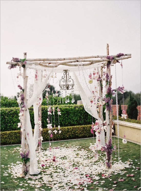 como hacer tu propio altar de boda