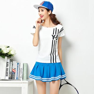 Baju Olahraga Tennis Wanita Terbaru 2016