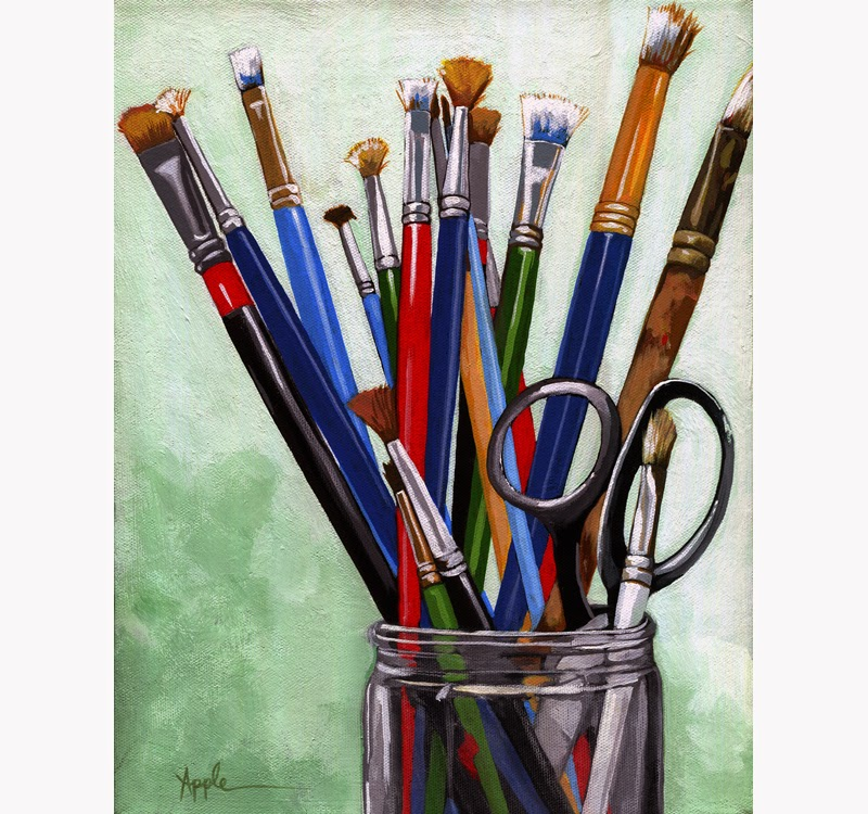 Paint Suppllies For Oil Painting
