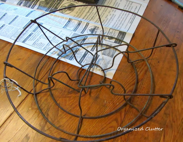 Canning Jar Ring Holder www.organizedclutterqueen.blogspot.com