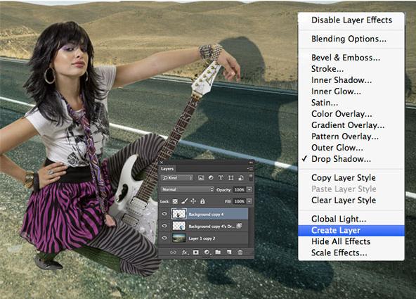 Tutorial Cara Mudah Membuat Efek Bayangan dengan Photoshop