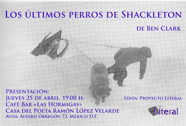 Ben Clark Los últimos Perros de Shackleton