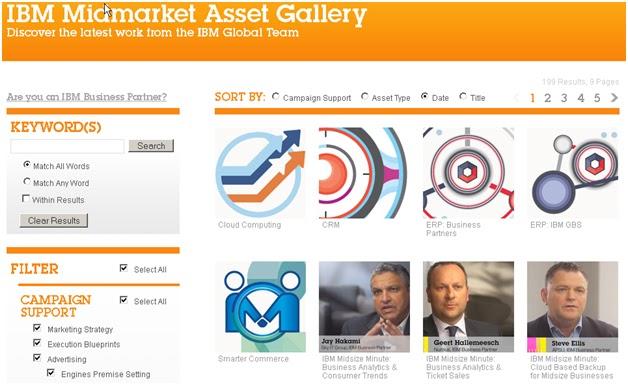 IBM Midmarket Asset Gallery