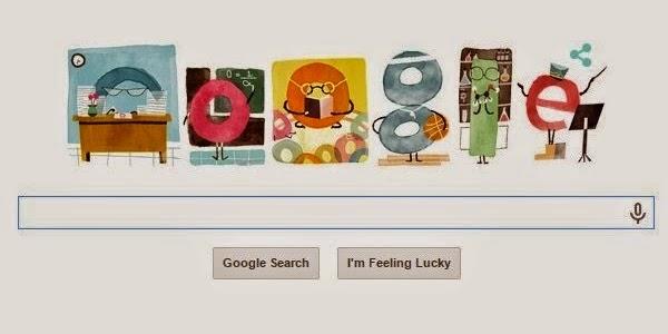 Hari Guru Nasional di Peringati Google Doodle