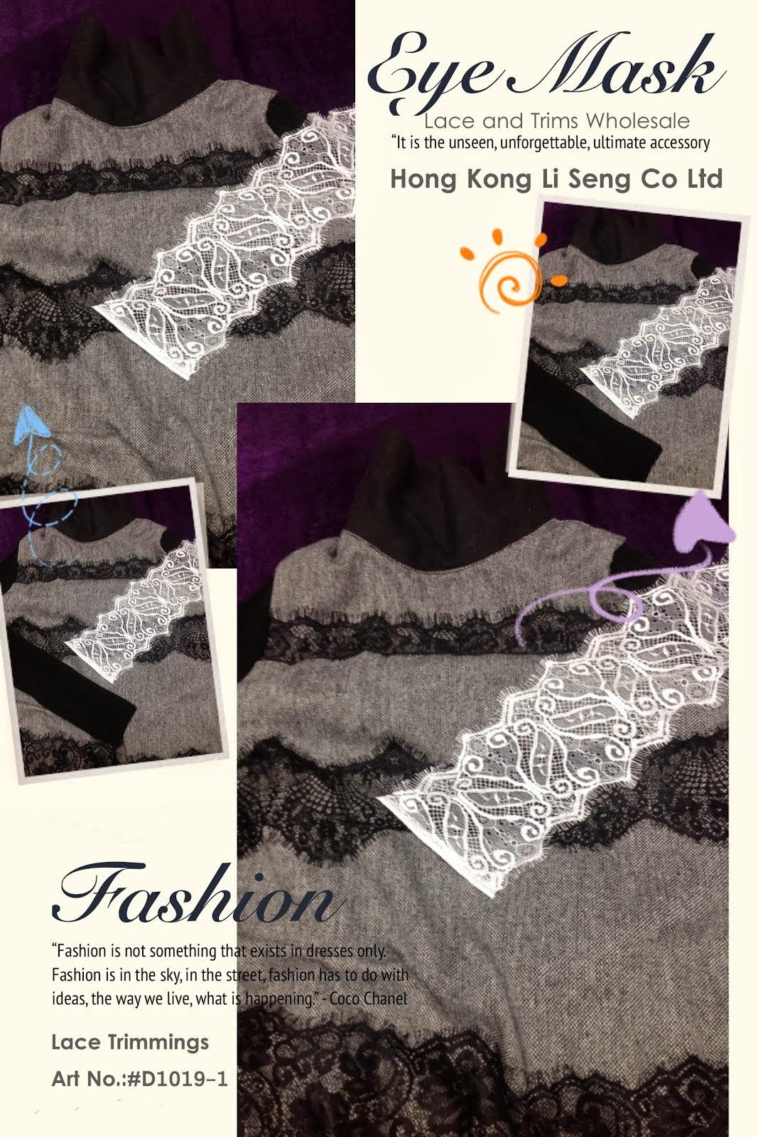 Eyelash Lace Trims Supplier Wholesale Manufacturer - Hong Kong Li Seng Co Ltd