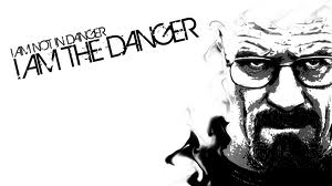 i am not in danger i am the danger