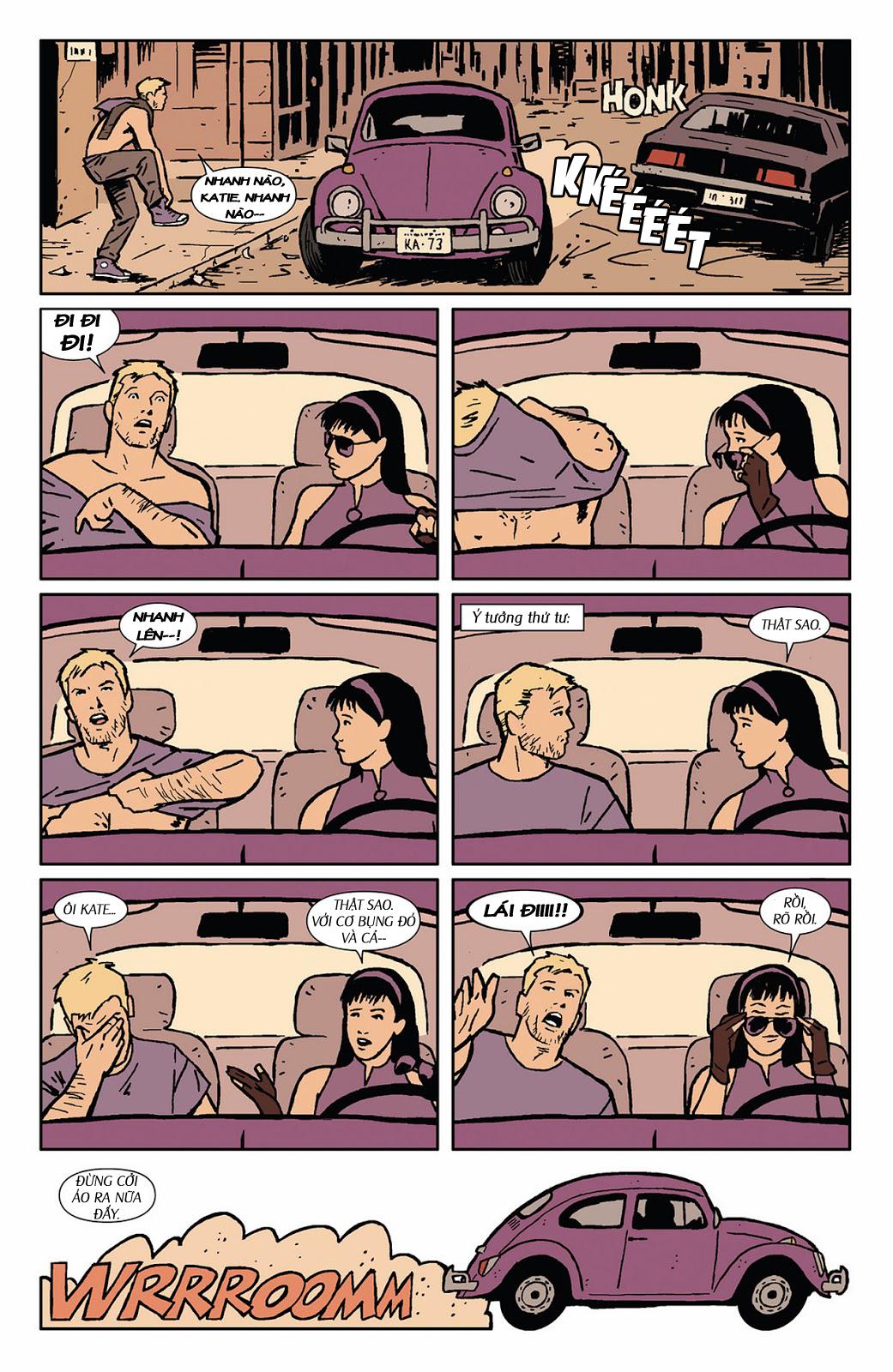 Hawkeye 2012 chap 3 - Trang 13