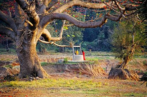 Myanmar countryside in Shan State