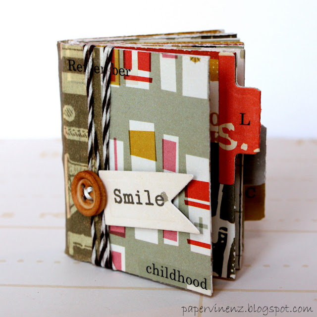 14 MARVELOUS Mini Album Tutorials {paper crafts}