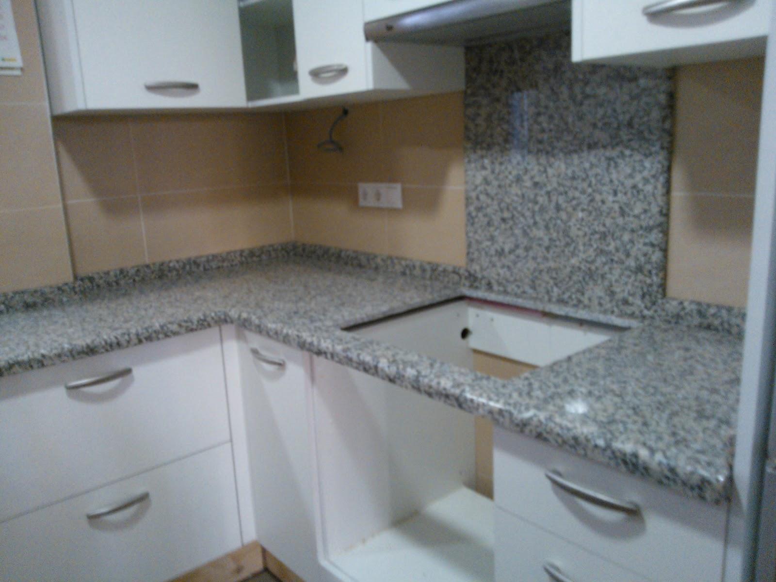 Marmoles vedat s l u encimera granito nacional mondariz for Colores marmoles cocina