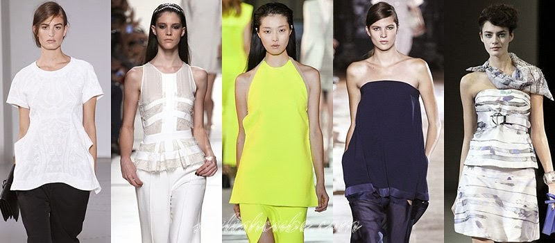 Summer 2014 Women's Top Fashion Trends