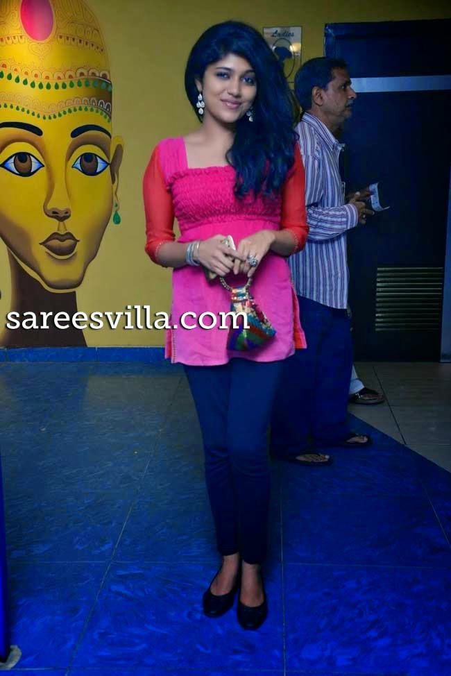Samyuktha Hornad At Ulavacharu Biryani Movie Premier Show