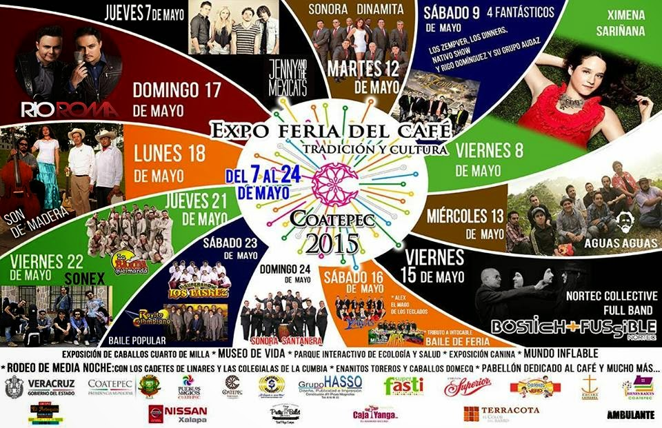 artistas programa feria coatepec 2015