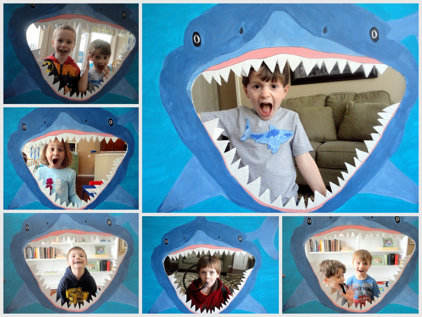 Studio 206 shark scuba birthday party for Shark tank fairy door