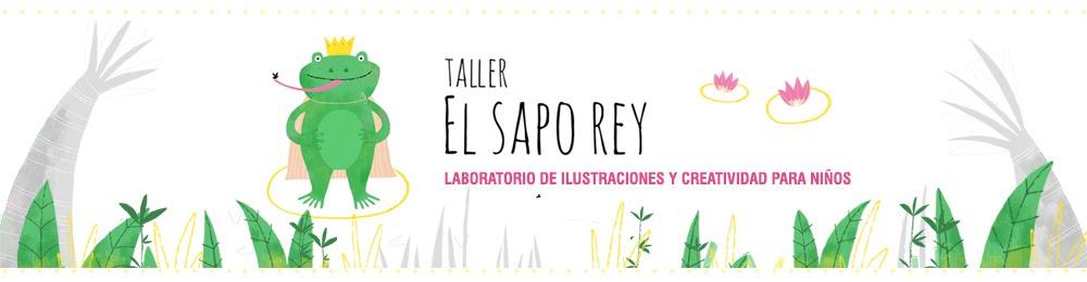 EL SAPO REY | Laboratorio de ilustraciones y creatividad para niños