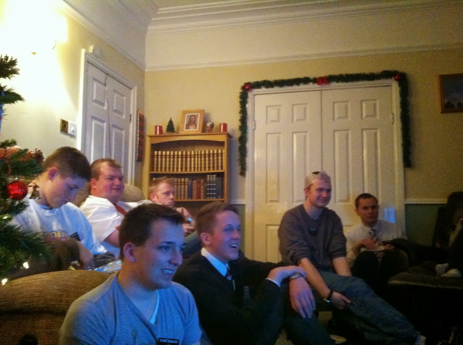 Elder Zachary Brown - Leeds, England Mission: Boxing Day in ...pprjp i
